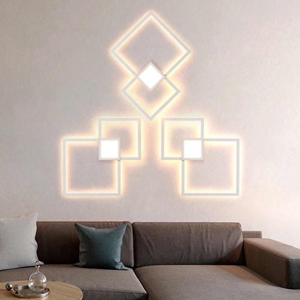 Cozinha minimalista lâmpada de parede sala estar