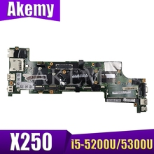 SAMXINNO For Lenovo ThinkPad X250 Laotop Mainboard NM-A091 00HT370 00HT379 00HT386 Motherboard with i5-5200U/i5-5300U CPU
