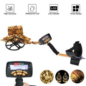 Image 2 - Detector de metais subterrâneo profissional portátil alta sensibilidade jóias ouro detector de tesouro metal localizador do parafuso prisioneiro