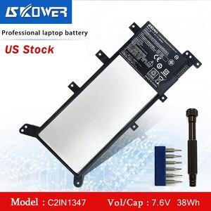 Bateria do portátil para asus x555 x555l x555la x555ld x555ln x555ma série c21n1347 38wh + ferramentas gratuitas