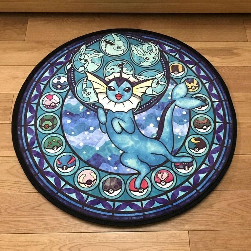 Children's Room Carpet Cartoon Anime Carpet Anti-slip Cushion Boy Room Carpet Living Room Bedroom Rug Mechanical Wash