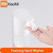 Xiaomi Mijia موزع صابون يدوي أوتوماتيكي مع مستشعر الأشعة تحت الحمراء وتحريض الرغوة كل 0.25 ثانية