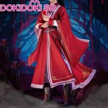 Dokidoki-sr – Costume de Cosplay de l'anime Tian Guan Ci Fu Hua Cheng San Lang Ver rouge, Costume officiel du ciel, HuaCheng Cosplay