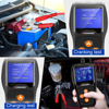 KONNWEI KW600 Car Battery Tester 12V Analyzer 100 to 2000CCA Test Battery Health Faults 12V Digital Color Screen Auto Diagnostic discount