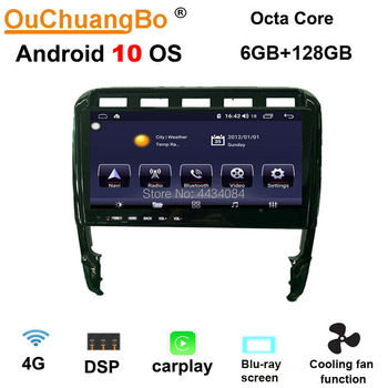 Ouchuangbo 4G Car GPS Radio Stereo for Porsche Cayenne GTS 2003-2010 With 8 Core ROM 128GB CarPlay Android 10 OS image
