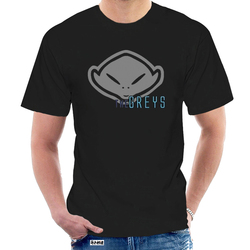 Alien Grey - UFO - Funny - Mens T-Shirt @004526