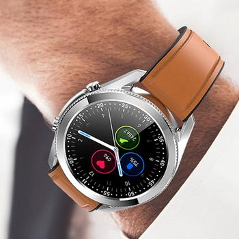 2020 inteligentny zegarek mężczyźni Bluetooth zadzwoń muzyka wodoodporny G33 inteligentny zegarek męski biznes Smartwatch dla Huawei Android IOS tanie i dobre opinie Cerreat CN (pochodzenie) Brak Na nadgarstku Wszystko kompatybilny 128 MB Passometer Fitness tracker Uśpienia tracker