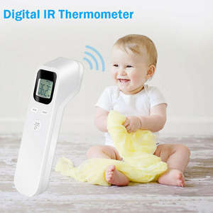 Forehead Adult Temperature-Gun LCD Non-Touch Digital Baby Infrared