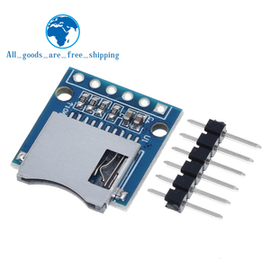 TZT Micro SD Storage Expansion Board Mini Micro SD TF Card Memory Shield Module With Pins for Arduino ARM AVR(China)
