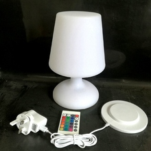D17*H25.5cm Portable luminaire lighting lamp Li battery LED Table Lamp Inductive Charger for Coffee Bar SK-LF06C 1pc