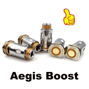 Vmiss 5pcs/box Aegis Boost Coil 0.4ohm and 0.6ohm Head RBA MTL DL Mesh Coil Vape for Electronic Cigarette KA1 Boost Pod Kit universal adjustable racing turbocharger boost electronic controller 30 90psi dual stage boost