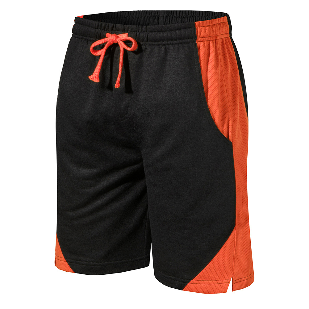 Summer Mens Casual Shorts Solid Color Loose Fit Shorts For Men Knee Length Mens Shorts