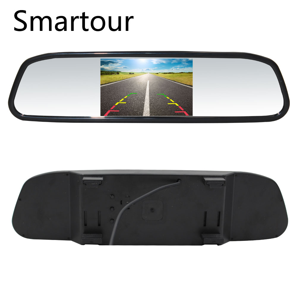 Smartour Rear-View-Mirror Camera Camera-Navigation-Lights Parking Car-Styling