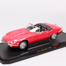 1:18 Large Scale car vintage Road signature luxury 1971 E-TYPE Diecast Vehicle model toy auto thumbnail for adult collection