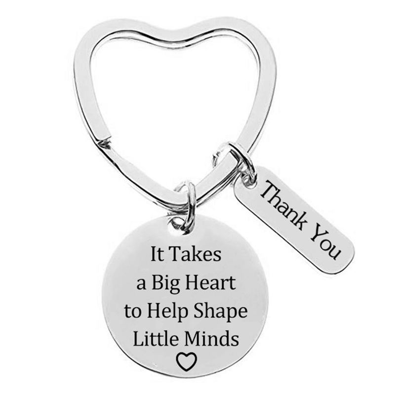 3Pcs Teacher Appreciation Gift Keychain Set For Teachers Thank You Birthday Christmas Gifts FPing