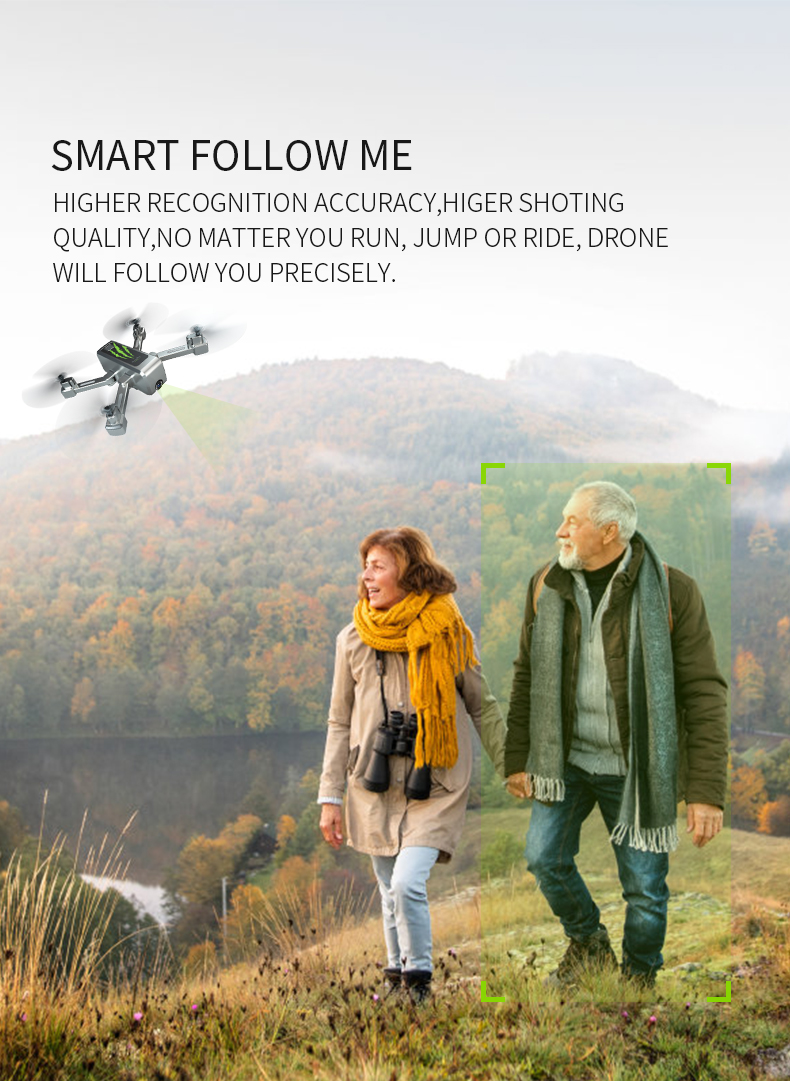 SHAREFUNBAY drone GPS 4K HD 5G WIFI FPV drone ESC camera height keep flight for 20 minutes distance control 23