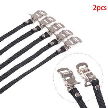 1 Pair Cycle Pedal Non Slip Strap Bike Spinning Cycling Shoe Toe Casing Tie Rope Bike Workout Security Belts image