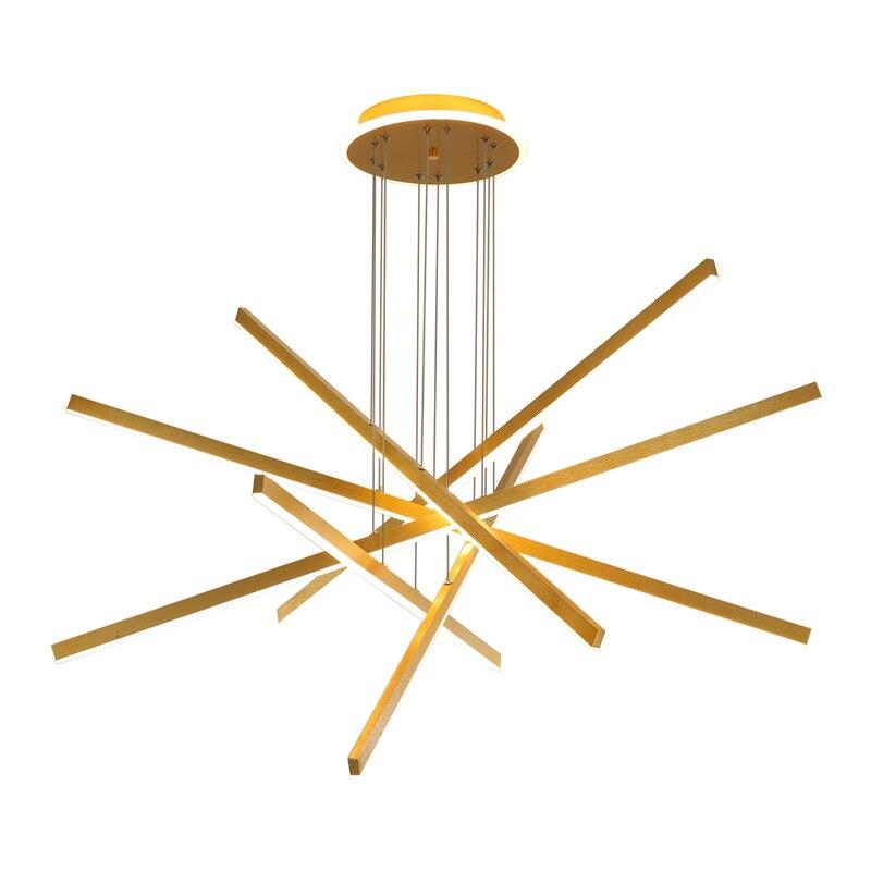 Nordic Led Pendant Light Fixtures Gold Dining Room Kitchen Hanging Lamp Modern Living Room Home Decor Indoor Lighting Suspension