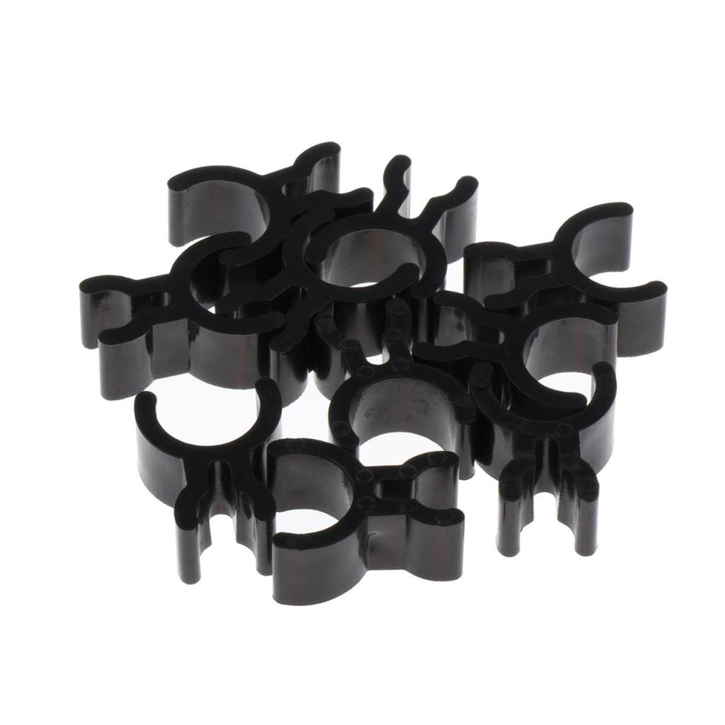 10x Trumpet Pencil Clip, Trumpet Horn French Horn Clips, Black