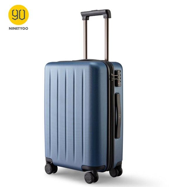 Ninetygo 90FUN Pc Koffer 20 Inch Kleurrijke Rolling Bagage Lichtgewicht Carry Op Spinner Wiel Reizen Tsa Lock Vrouwen Mannen