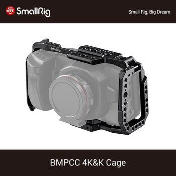 SmallRig For BMPCC 4K Dslr Camera Cage for Blackmagic Design Pocket Cinema Camera 4K Video Shooting Protective Cage Newest- 2203 smallrig bmpcc 4k cage dslr camera blackmagic pocket 4k 6k camera for blackmagic pocket cinema camera 4k 6k bmpcc 4k 2203b