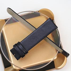 Image 3 - Pesno جلد طبيعي حزام (استيك) ساعة ساعة سوداء حزام 12 16 18 20 24 مللي متر مناسبة ل رادو Esenza حزام سوار للرجال والنساء