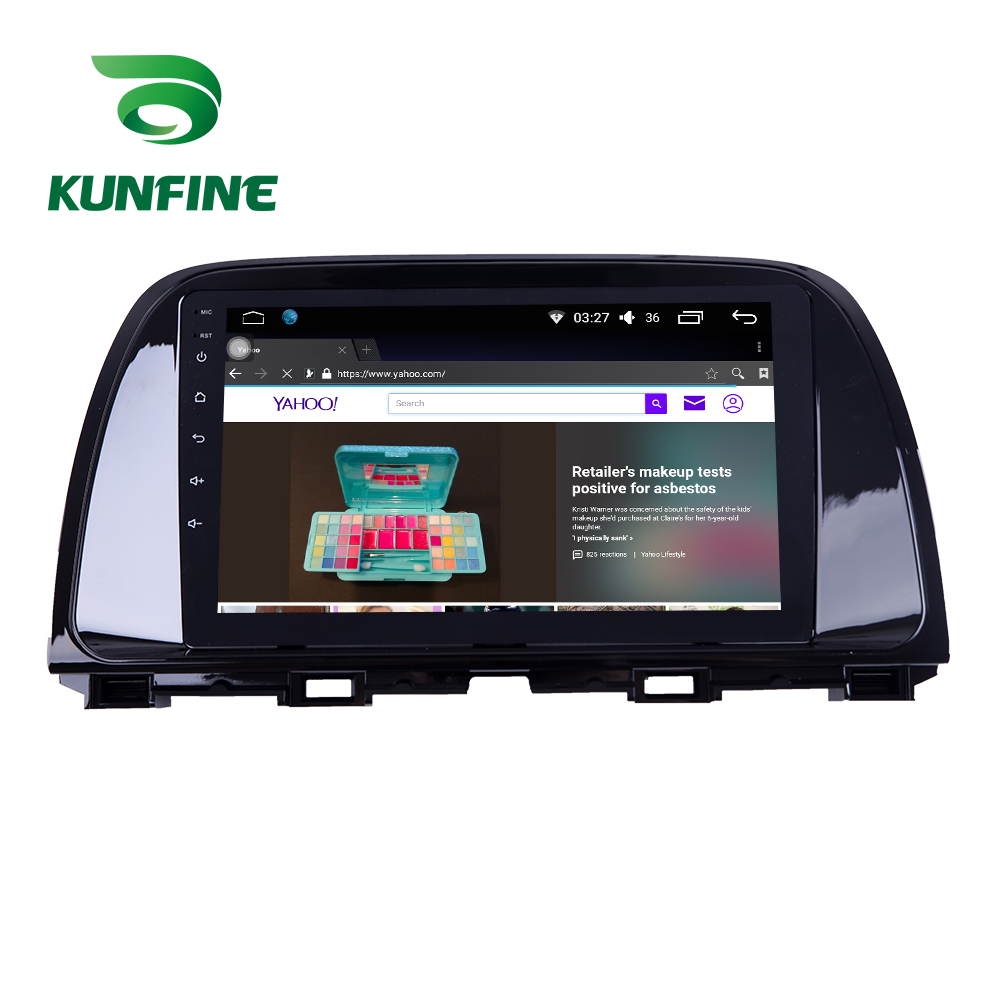 Octa Core 1024*600 <font><b>Android</b></font> 10.0 Car DVD GPS Navigation Player Deckless Car Stereo for <font><b>Mazda</b></font> CX5 2012-2019 <font><b>Radio</b></font> image