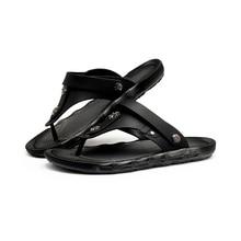 Flip flops ฤดูร้อนรองเท้าแตะสวมใส่รองเท้าแตะสำหรับชายรองเท้าแตะ Big PLUS ขนาด sandale Femme teenslippers mannen claquette fourrure