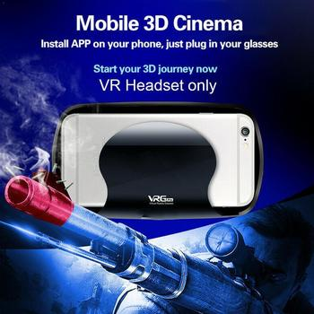 3D Virtual Reality Gaming PC VR Headset Movie VR Game Glasses Phone VRG Immersive Glasses For Mobile Pro A6D1