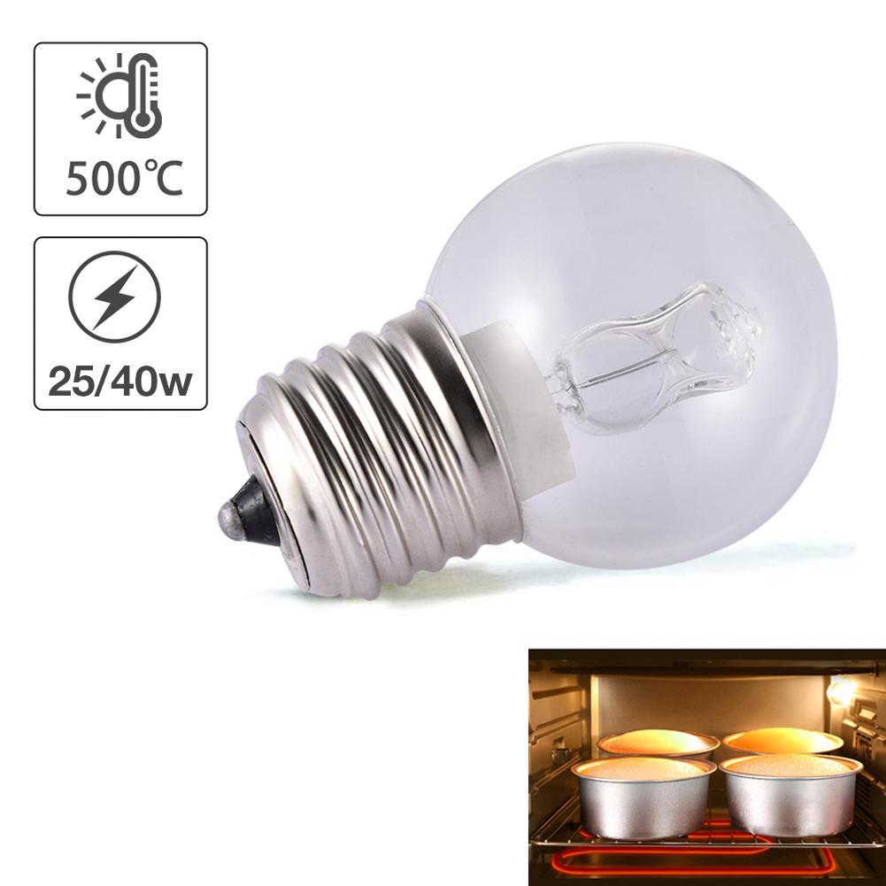 110V Oven Light E27 Sockets High Temperature Resistant Safe Oven Bulb Lamp For Many Household Appliances