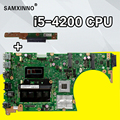 Senden bord + S551LB Motherboard i5-4200U GT740M/2GB REV: 2,0 für For Asus K551L S551 S551LN laptop Motherboard S551LB Mainboard