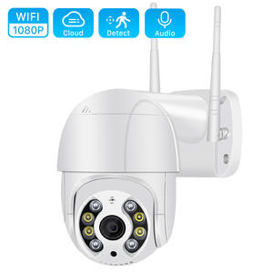 ANBIUX 1080P Outdoor Speed Dome Wifi Camera IP 2MP H.265 Audio PTZ Wireless Camera Ai Cloud-SD Slot ONVIF Surveillance IP Camera