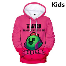 3 To 13 Years Kids Hoodies Shooting Game 3d Printed Hoodie Sweatshirt boys girls Long Sleeve cartoon Jacket Coat Teen Clothes(China)