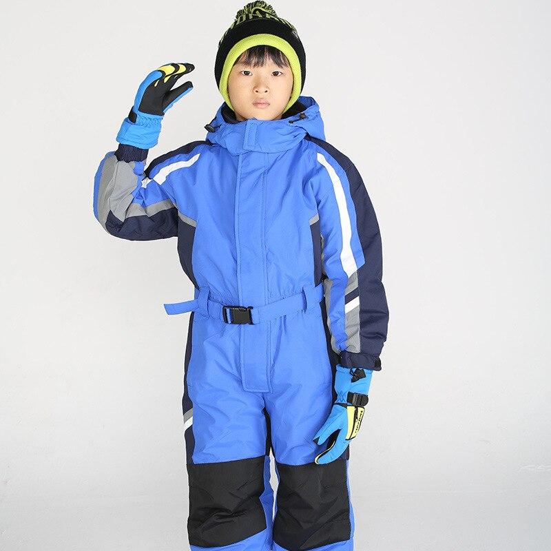 Menina de inverno terno de esqui meninos