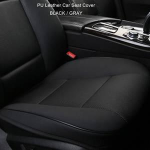 Image 5 - Xe ô tô Bọc Ghế Trước Miếng Lót BẰNG Da PU ghế Thảm Đệm Ghế Xe Hơi Ô Tô trang trí nội thất bảo vệ ghế xe ô tô Bìa Mềm