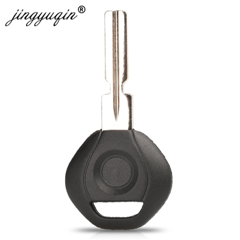 jingyuqin Replace Car Transponder Chip Key Shell Case Fob For BMW 3 5 6 series X3 X5 Z4 Z8 fit E36 E34 E38 E39 HU58 Blade image