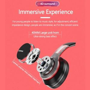 Image 4 - Lenovo سماعة رأس لاسلكية تعمل بالبلوتوث ، سماعة رأس استريو HIFI مع إلغاء الضوضاء لألعاب الفيديو ، طراز HD200