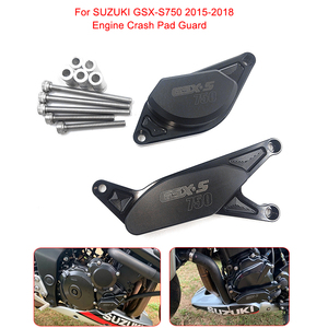 Motorcycle CNC Engine Guard Crash Pad Frame Slider Protector For SUZUKI GSX-S750 2015 2016 2017 2018 2019 GSX-S 750 GSX S750(China)