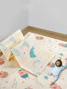 Babygo Blanket Play-Mat Active-Play Thickened Crawling Foldable XPE Tasteless Double-Sides