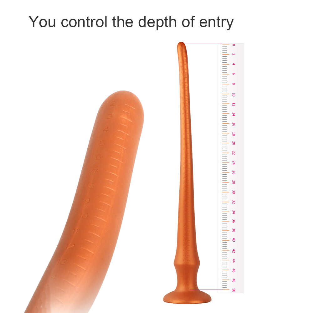 Super Long Butt Plug Sex Toy For Men Anal Plug No Vibrator 30-60cm Silicone Anus Beads Butt Plug Anal Sex Toy For Couples