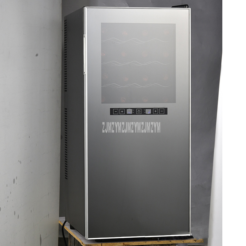 9 Layer 86L Electric Red Wine Cabinet 36 Bottle Constant Temperature Stainless Steel Commercial Ice Bar Wine Refrigerator TL-86