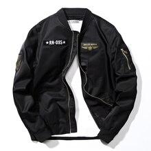 Automne marque hommes/femmes décontracté Bomber Hip Hop hommes pilotes vestes Streetwear homme coupe vent vêtements dextérieur manteau jaqueta,ZA244