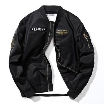 Autumn Brand Men/Women Casual Jacket Bomber Hip Hop Men Pilot  Jackets Streetwear Male Windbreaker Outwear Coat jaqueta,ZA244