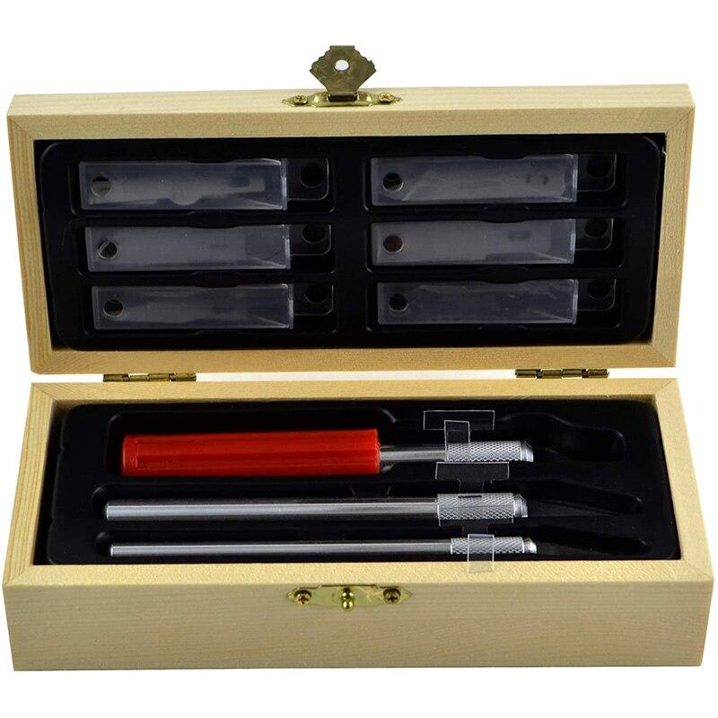 Точность Ножи с лезвия, Ремесло Хобби Ножи комплект дерево ремесло Ножи с точной резки лезвия Ножи для творчества