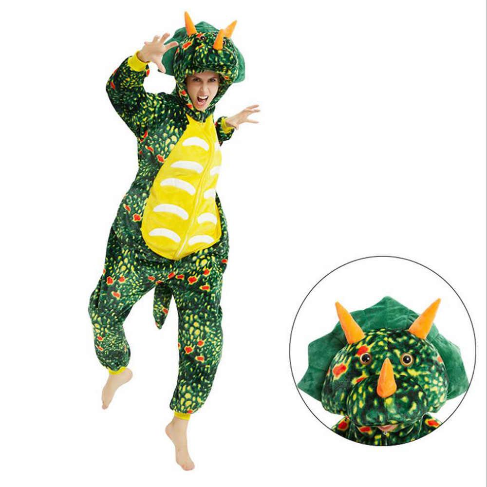 Winter Flanel Dragon Animal Hooded Een Stuk Jumpsuit Mannen Unisex Volwassen Roupa Masculina Onesie Pijama Hombre