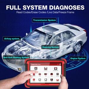 """Image 5 - Thinkcar thinktool prós ferramenta de diagnóstico automático 10 """"sistema completo adas obd2 scanner código 28 função redefinir programa em linha pk x431 v +"""