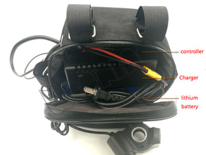 Image 3 - 500 ワットブースターバッテリなし修正された原付キット自転車摩擦ドライブ DIY 電動自転車 500 ワットブラシレス高速モーター