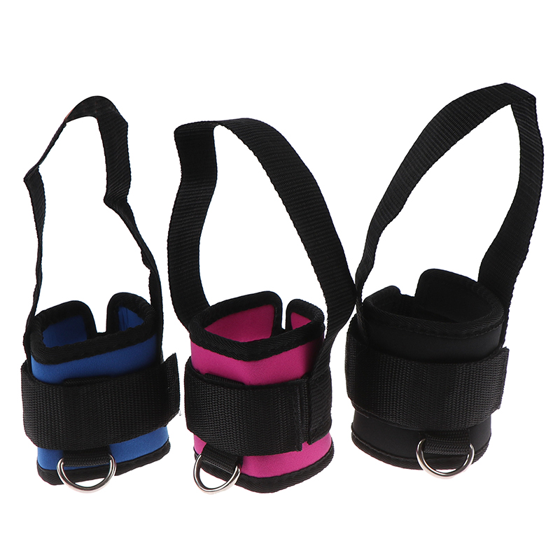 2 Pieces Fitness Exercise Resistance Band Ankle Straps Cuff Leg Glute Equipment