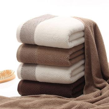 O strukturze plastra miodu zestaw ręczników miękkie geometryczne piękno twarzy ręczniki 100 bawełna ręcznik kąpielowy domu 3 kolory dla dorosłych Serviette De bain tanie i dobre opinie Zwykły 100-570 Set-190814-02 Sprężone Quick-dry Można prać w pralce Tkane Prostokąt Gładkie barwione 5 s-10 s Geometric Honeycomb