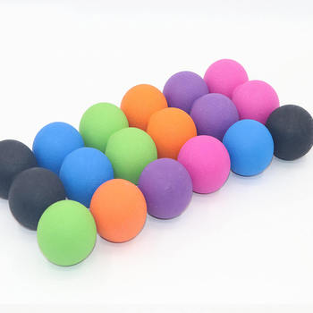 2pcs Peanut Massage Ball Lacrosse Fitness Balls Therapy Gym Relaxing Exercise Yoga Ball Release Muscle Sports Equipment